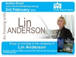 Lin Anderson at Darlington Library